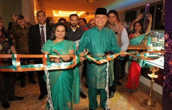 Inauguration of Food Festival by Mayor of Medan H.E Drs. H. T. Dzulmi Eldin S. Msi &Consul General H.E Dr.Shalia Shah at JW.Marriot as part of India Culture Week 2nd November 2018.