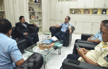 Consul General meets the Director of Immigration, Batam city on 19 June.