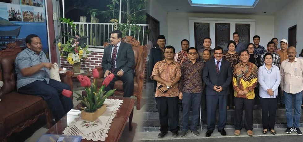 Consul General called on Regents of Karo and Samosir Region on 27 July and discussed bilateral issues of mutual interest.