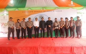 The 73rd Independence Day of India was celebrated at the Consulate in Medan on 15th August 2019.