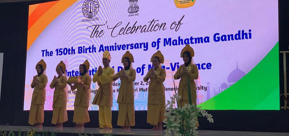 Celebration of 150th Birth Anniversary of Mahatma Gandhi on 2 October