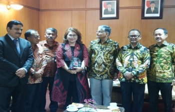 Courtesy Call on Governor of North Sumatra