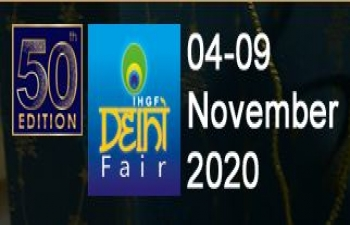 50th IHGF Delhi Fair - Virtual 2020 – Autumn Edition - from 4th to 9th November 2020  (Mega Handicrafts Virtual Fair)