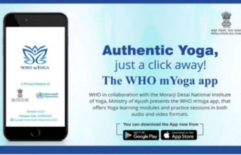 Prime Minister launched the #MYOGAapp
